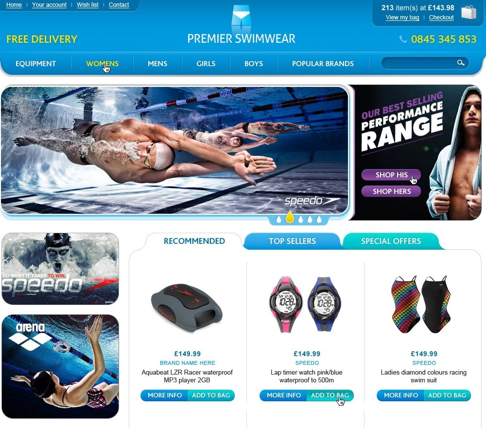 Premier Swimwear