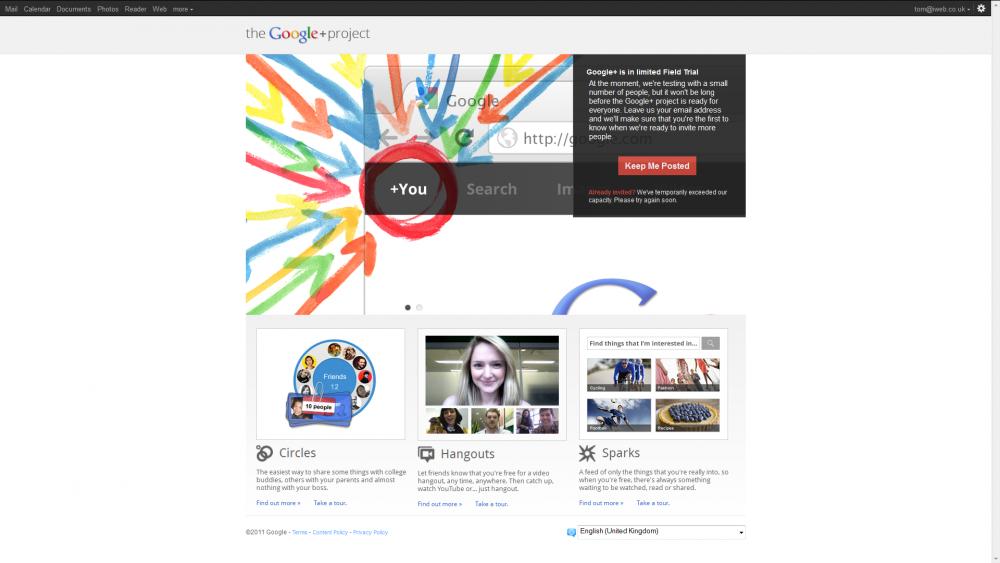 Google get social with Google+