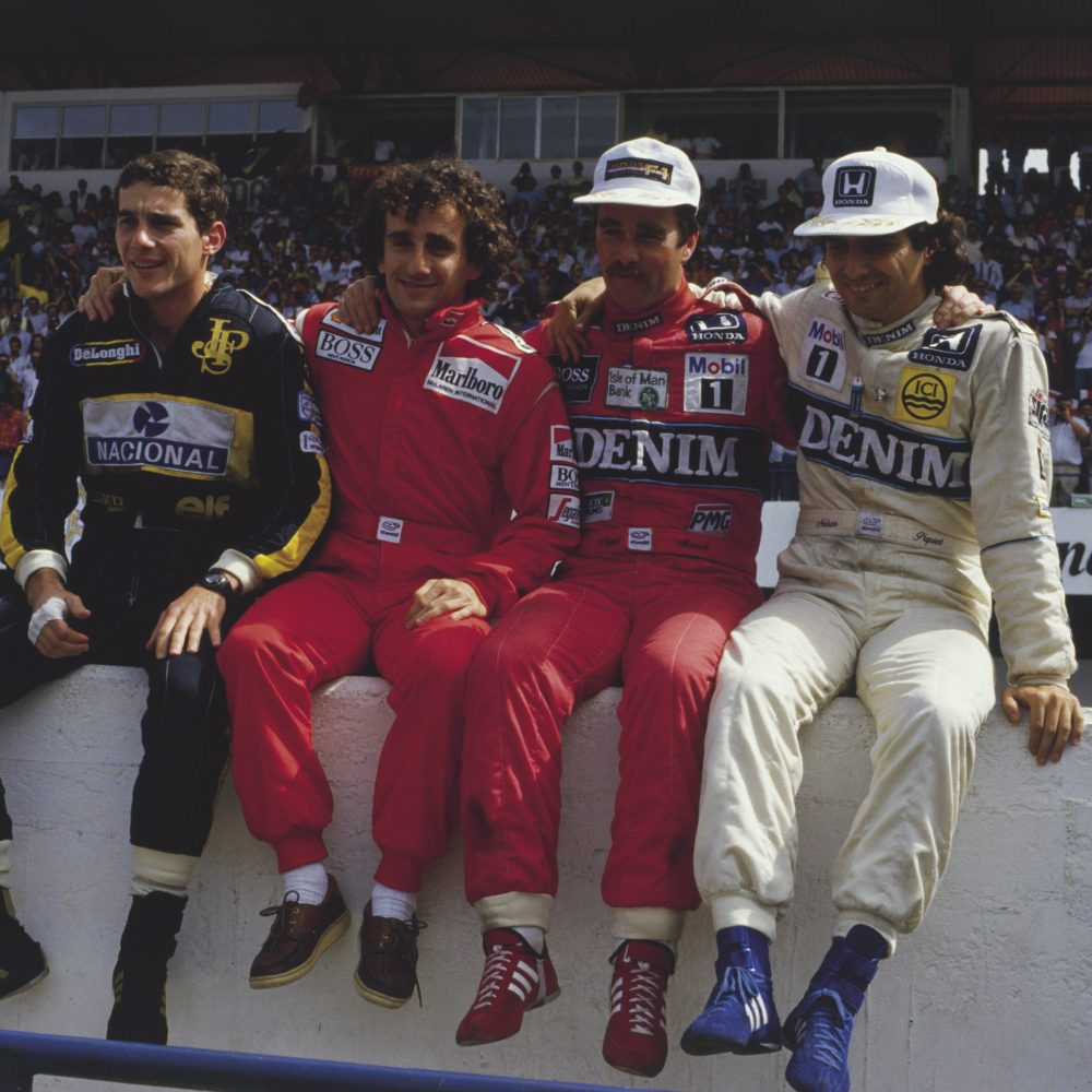 Four World Champions.Portugal 86