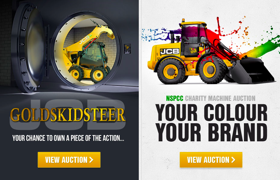 JCB NSPCC Charity Auction