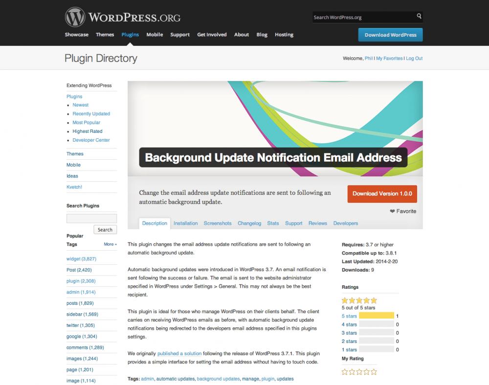 Launching a WordPress plugin