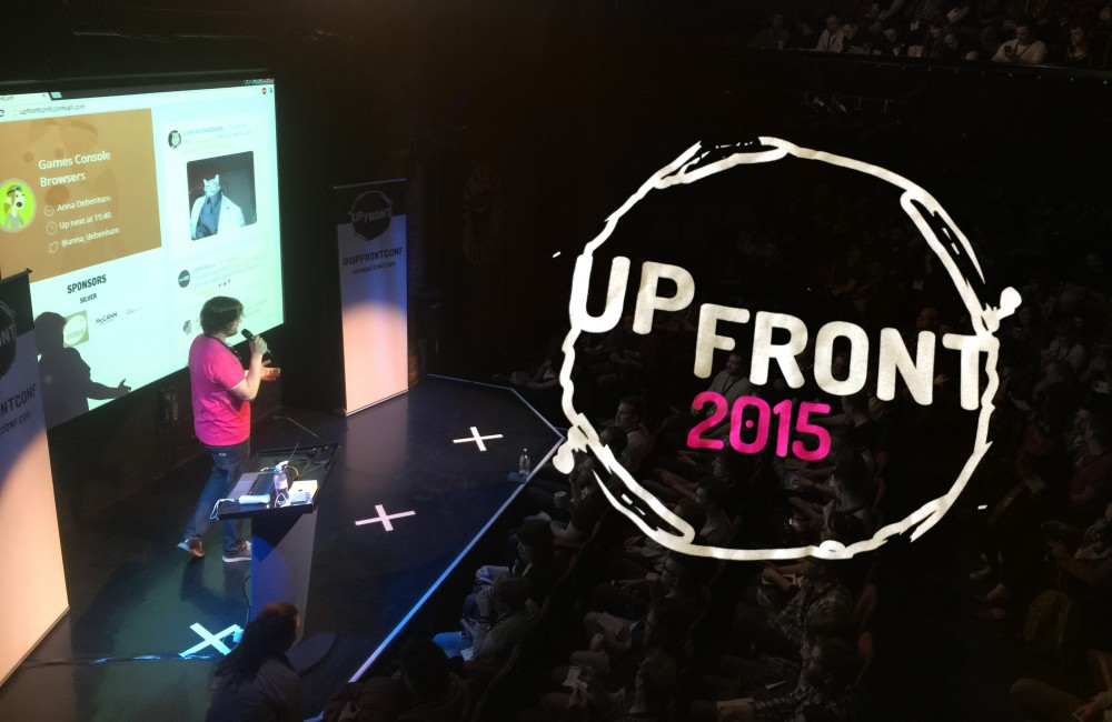 Upfront Conference 2015 – Responsive web design is more than the look