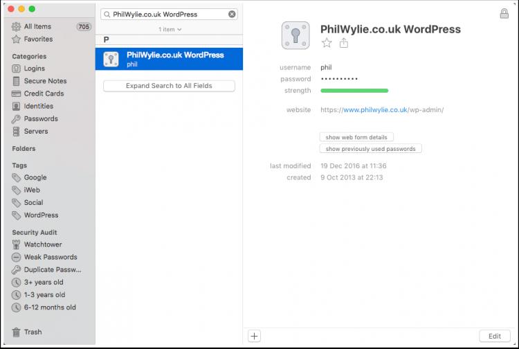 1Password | WordPress Website Security