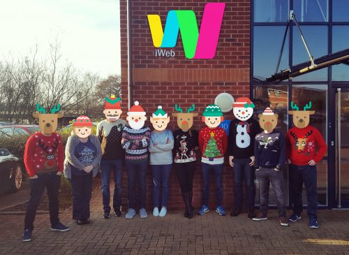 Have a merry ol' Christmas - love from the iWeb team