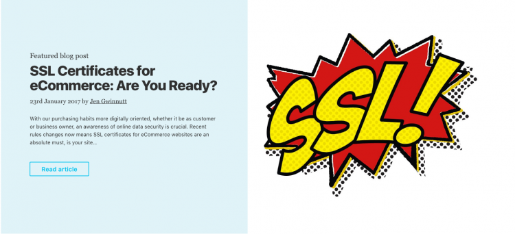 SSL certificates for eCommerce: Are You Ready?