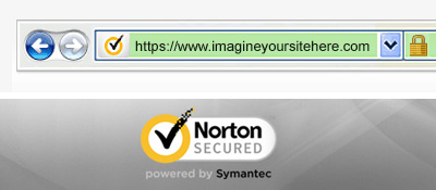 Website with SSL certificate