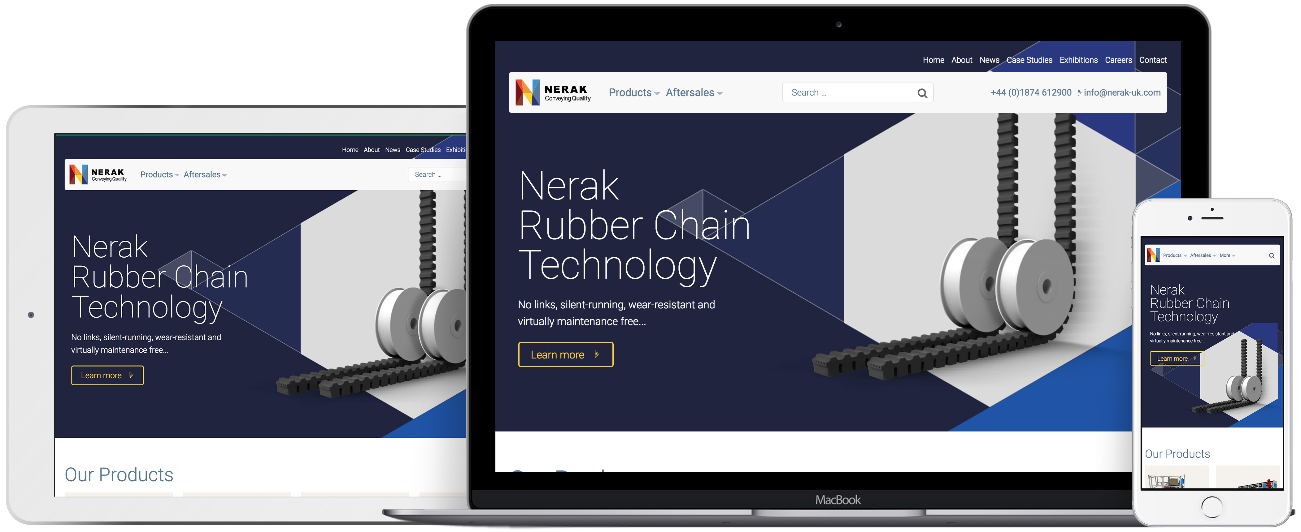 Nerak Wiese Website