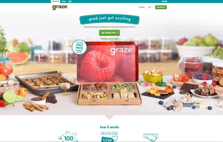 Graze.com Magento 2 Store