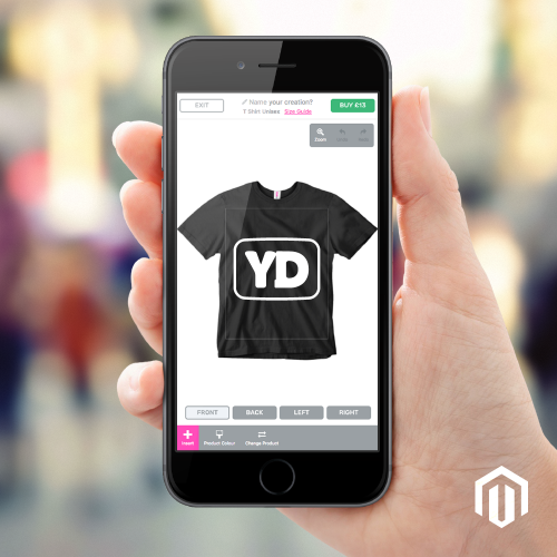 Magento personalised products