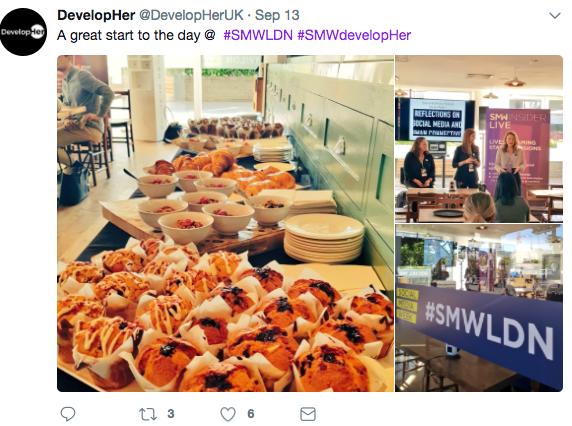 Social Media Week | DevelopingHer Networking Breakfast | iWeb