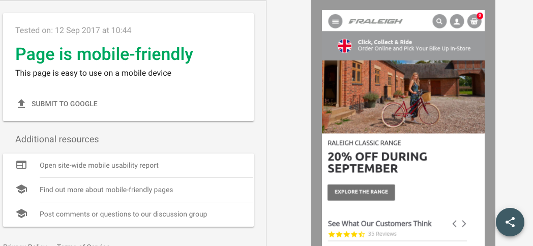 Mobile Friendly Testing | Website Optimisation for Local SEO