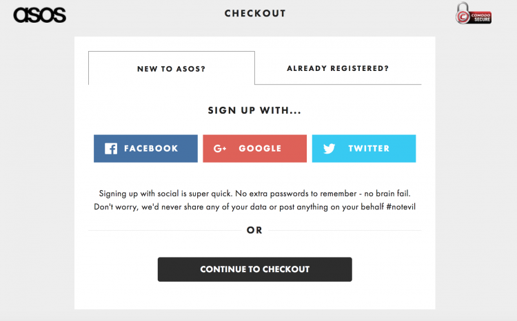 Social Logins | Magento Checkout