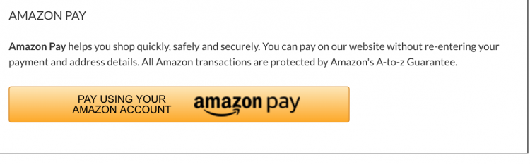 Amazon Pay Button | Magento Checkout