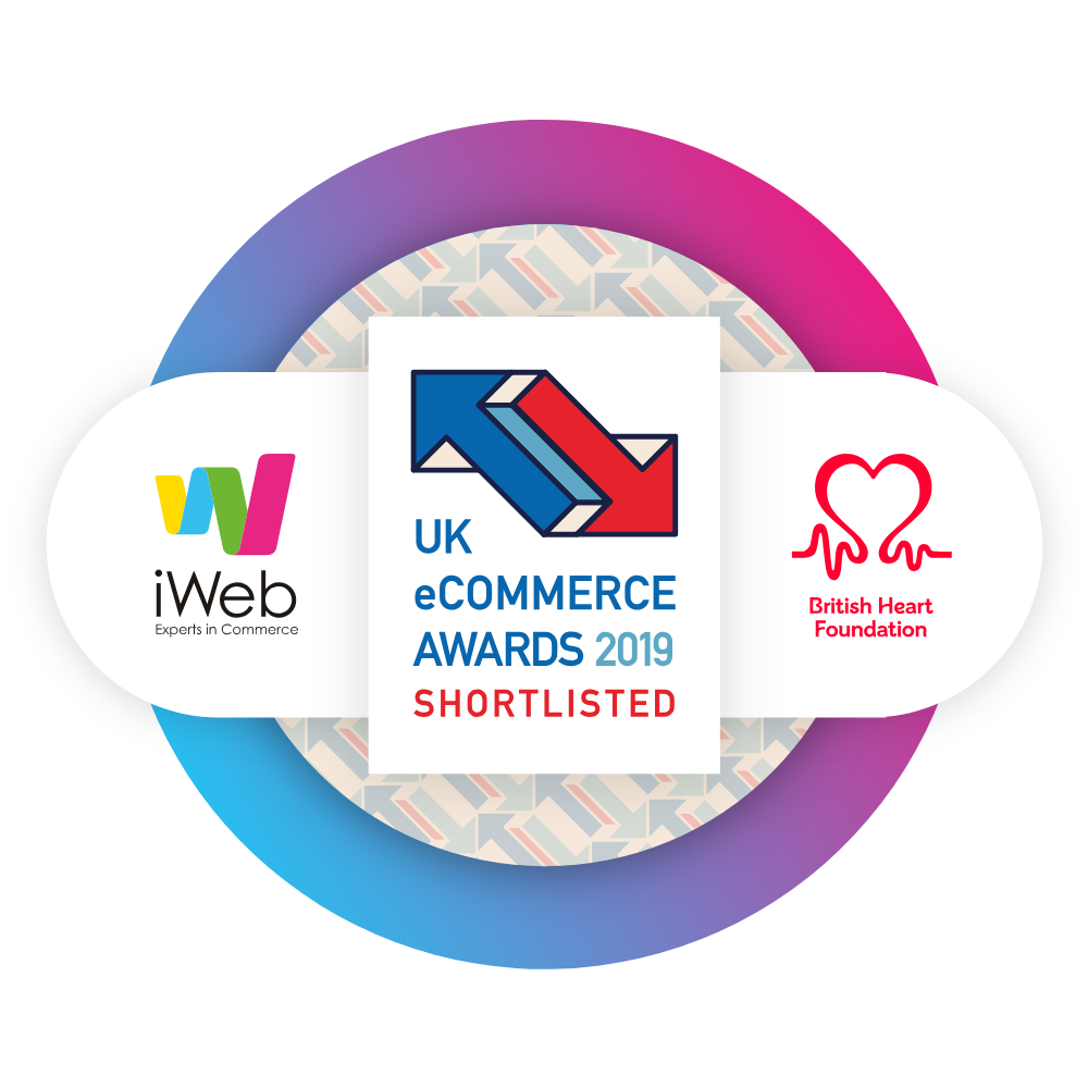 iWeb Shortlisted for Best B2C eCommerce Website Of The Year 2019