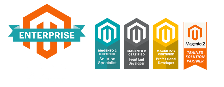 We are Magento solutions partners.