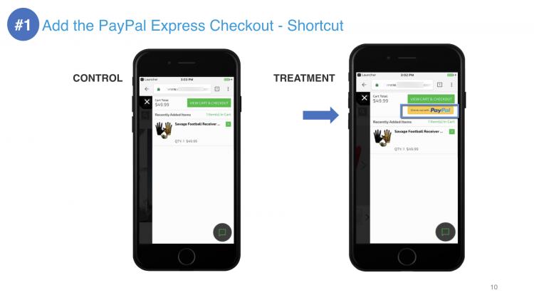 PayPayl Express Checkout Shortcut | iWeb Live 2019