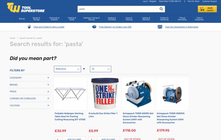 TW Smart Search Example   iWeb