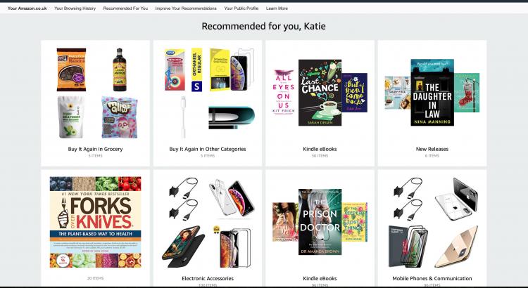 Amazon eCommerce Personalisation Tactics | iWeb Experts in eCommerce