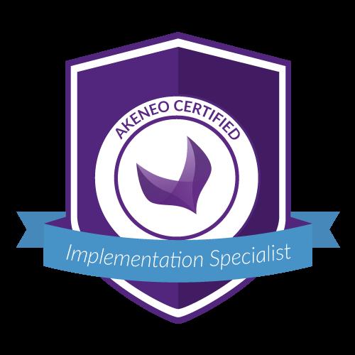 akeneo implementation specialist badge